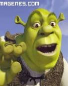 Shrek Gesticulando