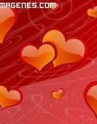 Miles de corazones en 2D