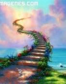 Escalera hacia el más allá