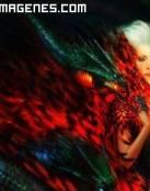 La mujer dragón